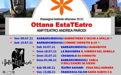 ESTATEATRO – Rassegna teatrale ottanese  – VIII edizione